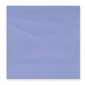 Paper Napkin Edging Lilac 20x20cm 2C (100 Units)