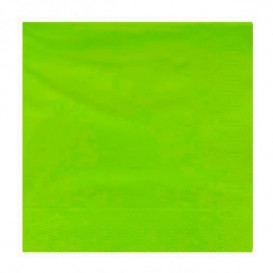 Paper Napkin Edging Pistachio 20x20cm 2C (100 Units)