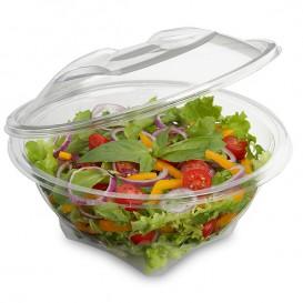 Plastic Salad Bowl APET Round shape Transparente 600ml Ø17,5cm (46 Units)
