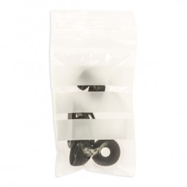 Plastic Zip Bag Seal top Write-On Block 4x6cm G-200 (100 Units)
