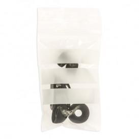 Plastic Zip Bag Seal top Write-On Block 6x8cm G-200 (100 Units)