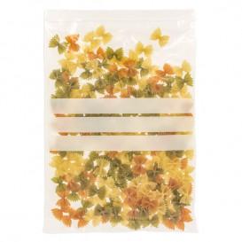 Plastic Zip Bag Seal top Write-On Block 25x35cm G-200 (100 Units)