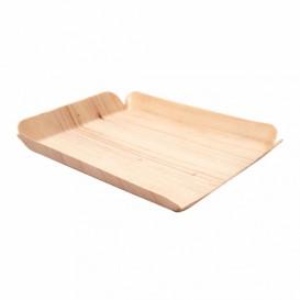 Wood Backing Tray Rectangular 15x11,5x1,5 cm (50 Units)