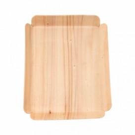 Wood Backing Tray Rectangular 15x11,5x1,5 cm (200 Units)