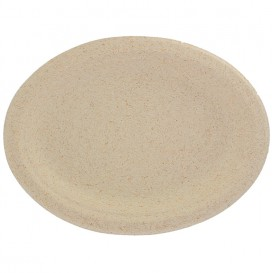 Wheat Straw Plate Natural 26x20 cm (800 Units)