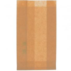 Paper Burger Bag Grease-Proof Burger Design Kraft 12+6x20cm (1000 Units)
