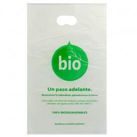 Die-Cut Handle Plastic Bags 100% Biodegradable 20x33cm (3000 Units)