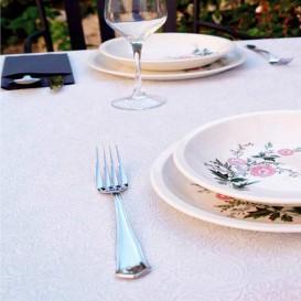 Non-Woven PLUS Tablecloth White 100x100cm (150 Units)