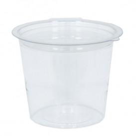 Plastic Container APET Round shape Transparente 125ml Ø7cm (81 Units)