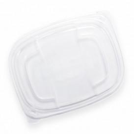 Plastic Lid Translucent Container PP 800/1000ml 21,5x17x2cm (320 Units)