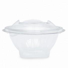 Plastic Salad Bowl APET Round shape Transparente 150ml Ø12cm (21 Units)