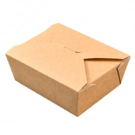 American Box Great Kraft 19,7x14x6,5cm 1800ml (25 Units)