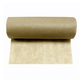 Non-Woven PLUS Tablecloth Roll Cream 1,2x50m P40cm (6 Units)