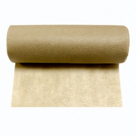 Non-Woven PLUS Table Runner Cream 40x120cm (500 Units)