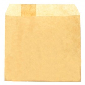 Paper Fries Envelope Grease-Proof Kraft 12x12cm (250 Units)