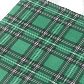 "Pre-Cut Paper Tablecloth ""Edinburgh"" 37g 1x1m (400 Units)"