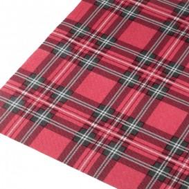 "Pre-Cut Paper Tablecloth ""Glasgow"" 37g 1x1m (400 Units)"