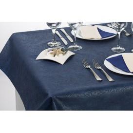 Non-Woven PLUS Tablecloth Blue 120x120cm (100 Units)