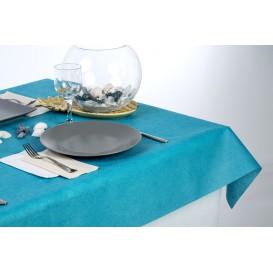 Non-Woven PLUS Tablecloth Turquoise 120x120cm (100 Units)