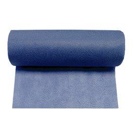 Non-Woven PLUS Tablecloth Roll Blue 1,2x45m P40cm (1 Unit)