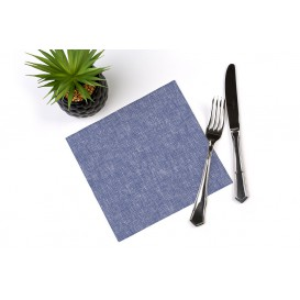 "Paper Napkin Double Point ""Cow Boys Blue"" 40x40cm (600 Units)"