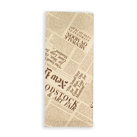"""Paper Cutlery Envelopes with Napkin """"New York Times"""" (1000 Units)"""