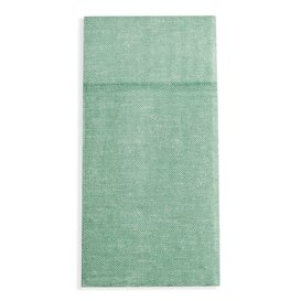 Pocket Fold Paper Napkins Cow Boys Green 40x40cm (30 Units)