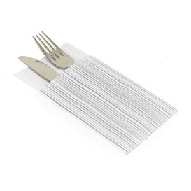 "Airlaid Napkins Kanguro ""Basic Grey"" 33x40cm (30 Units)"