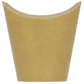 Paper Container Kraft Effect Anti-Grease 14Oz/420ml (50 Units)