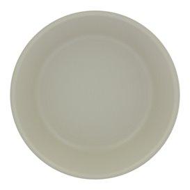 Reusable Plate Premium PP Mineral Grey Ø18cm (54 Units)