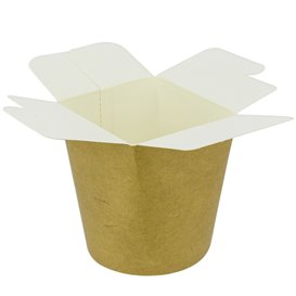 Paper Take-Out Container 100% ECO Kraft 16Oz/480ml (500 Units)