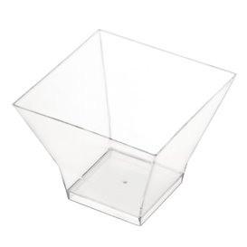 """Tasting Plastic Bowl SAN """"Pagoda"""" Clear 88ml (96 Units)"""
