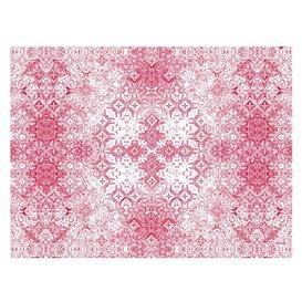 """Paper Placemats 30x40cm """"Mosaic"""" Burgundy 40g/m² (1000 Units)"""
