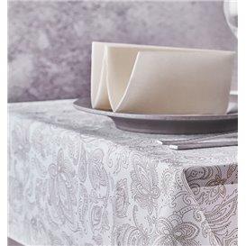 "Non-Woven Tablecloth 120x120cm ""Mandala"" Cream 50g/m² (150 Units)"