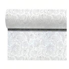 "Non-Woven Tablecloth Roll 1,2x50m ""Mandala"" Grey 50g/m² P40cm (4 Units)"