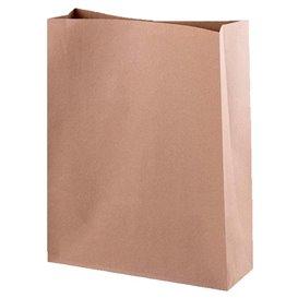 Paper Bag without Handle Kraft 26+9x31cm (250 Units)