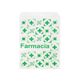 Paper Bag Pharmacy White 14x24cm (1000 Units)
