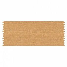 "Adhesive Label ""Ribbon"" Kraft 2,4x6cm (750 Units)"