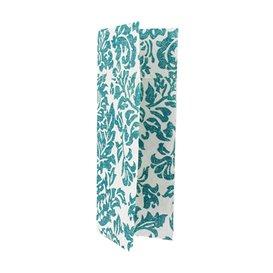 "Pocket Fold Airlaid Napkins ""Versalles"" Turquoise 32x40cm 55g/m² (40 Units)"