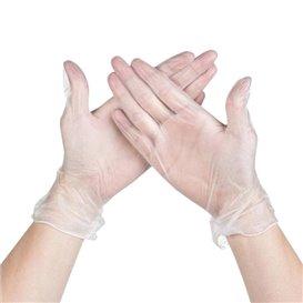 Vinyl Gloves Clear Size S (100 Units)