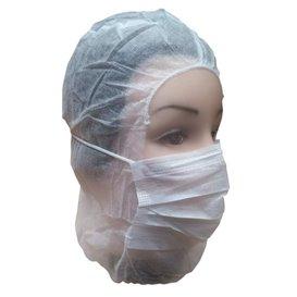 Disposable Surgeon Hood PP White (500 Units)
