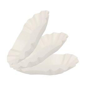Paper Food Boat Tray Oval shape 15,5x9,5x2,5cm (2000 Units)