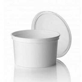 Plastic Deli Container White PP 500ml Ø11,5cm (500 Units)