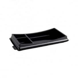 Plastic Sushi Container PET Black 17,2x10,1cm (960 Units)