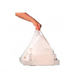 Plastic T-Shirt Bag for Pizza Boxes 50/26*60cm (100 Units)