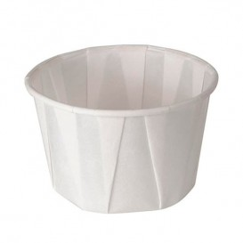 Pleated Paper Souffle Cup 30ml (250 Units)