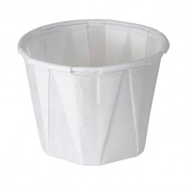 Pleated Paper Souffle Cup 120ml (250 Units)