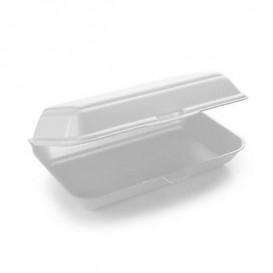 Foam Baguette Container 1 Compartments 2,40x2,10x0,70cm (125 Units)