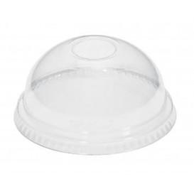 Plastic Dome Lid PET Crystal Ø9,3cm (100 Units)