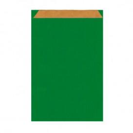 Paper Envelope Kraft Green 12+5x18cm (125 Units)